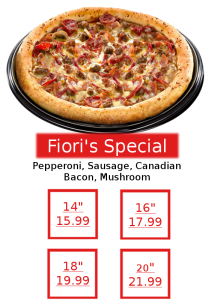 Final Pizza Fioris Special 2