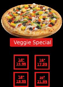 Pizza Veggie Special 2
